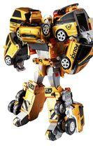 Tobot V Gold Quatran Toy Robot Transforming Transformation Action Figure image 6