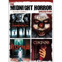 Midnight Horror: (Hoboken Hollow/Secrets of the Clown/Room 33/Curtains) DVD