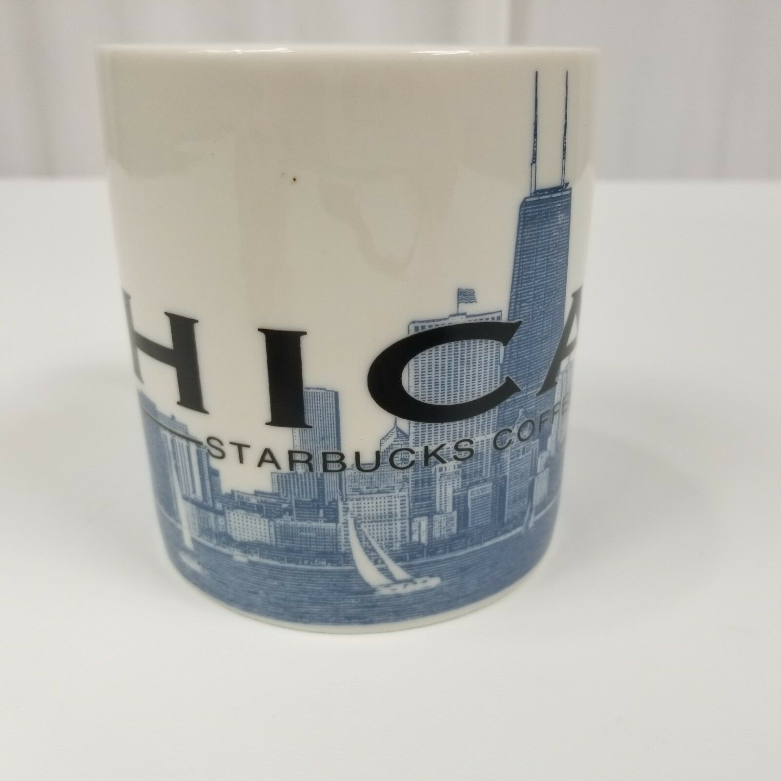 Starbucks Chicago Skyline Series Mug Coffee Cup Tea Large Windy City Barista image 5