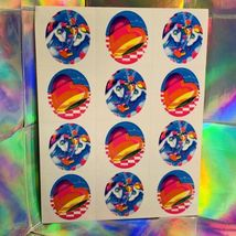 3 Complete Lisa Frank Sticker Sheets Markie The Unicorn S105 S252 S113 RARE LOT image 4