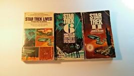 Star Trek Collectible Books Star Trek 6 Star Trek 11 Star Trek Lives Jam... - $19.80