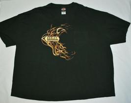 Harley Davidson Myrtle Beach South Carolina T-Shirt Black Short Sleeve M... - $29.58