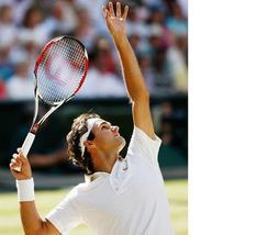 Roger Federer Vintage 11X14 Matted Color Tennis Memorabilia Photo - $12.99