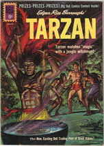 Tarzan Comic Book #125, Dell Comics 1961 VERY GOOD+ - $12.59