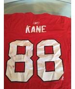 Chicago Blackhawks Patrick Kane Red Reebok Jersey T-Shirt Small - $9.89