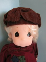 """Precious Moments   """"ERICH"""" Doll the CLASSIC COLLECTION yellow yarn  Hair... - $34.65"""