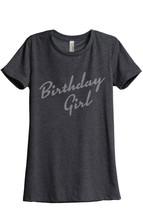 Thread Tank Birthday Girl Women's Relaxed T-Shirt Tee Charcoal Grey - $24.99+