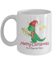 Christmas Stocking Stuffer Cute Gift for a Special Son Dinosaur Mug Ceramic - $9.99