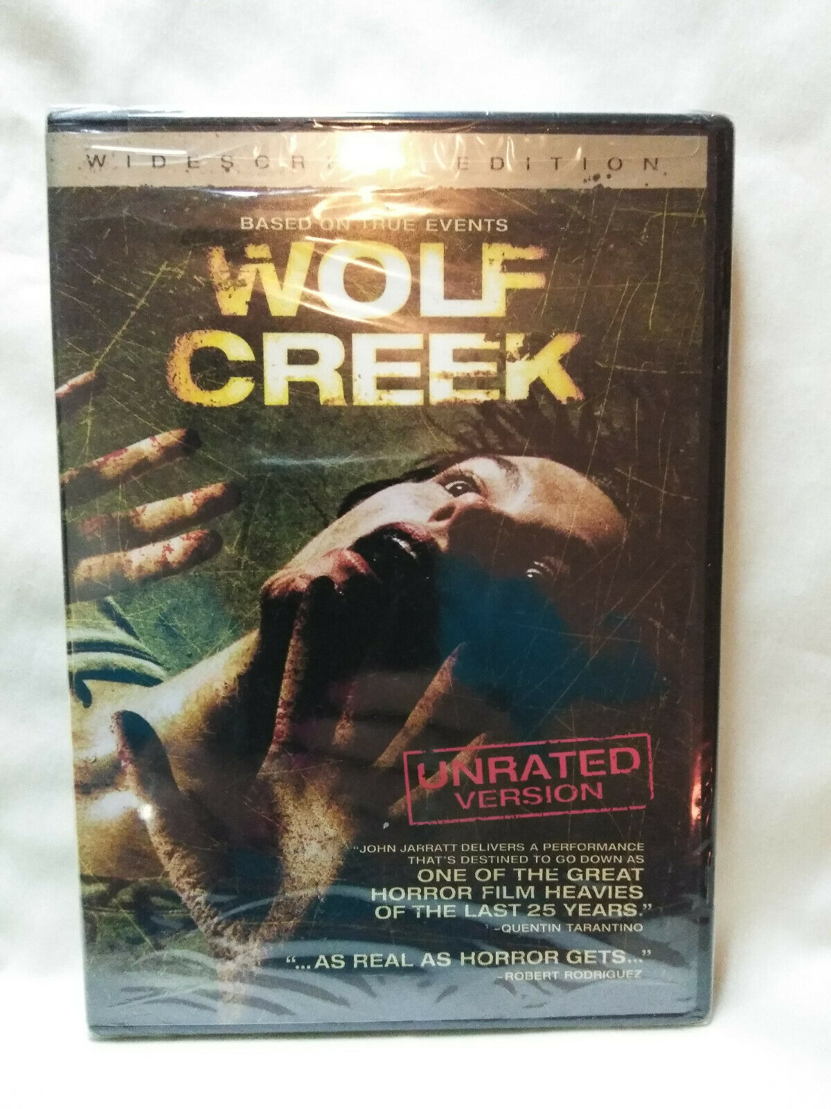 Wolf Creek (DVD, 2006, Unrated) New Sealed