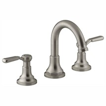 Worth 8 in. Widespread 2-Handle Bathroom Faucet in Vibrant Brushed Nickel - $165.27