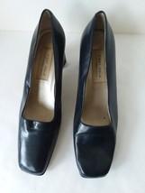First Issue Liz Claiborne Women's Blue Square Toe Shoes Size 9.5M - $19.79