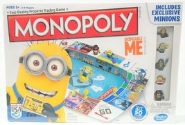 Moi Moche & Méchant Minions Monopoly Jeu de Société Larbin Trader Immobilier - $20.05