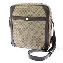 GUCCI Shoulder Bag PVC Coated Leather Beige 268159 Diamante Authentic 54... - $408.60