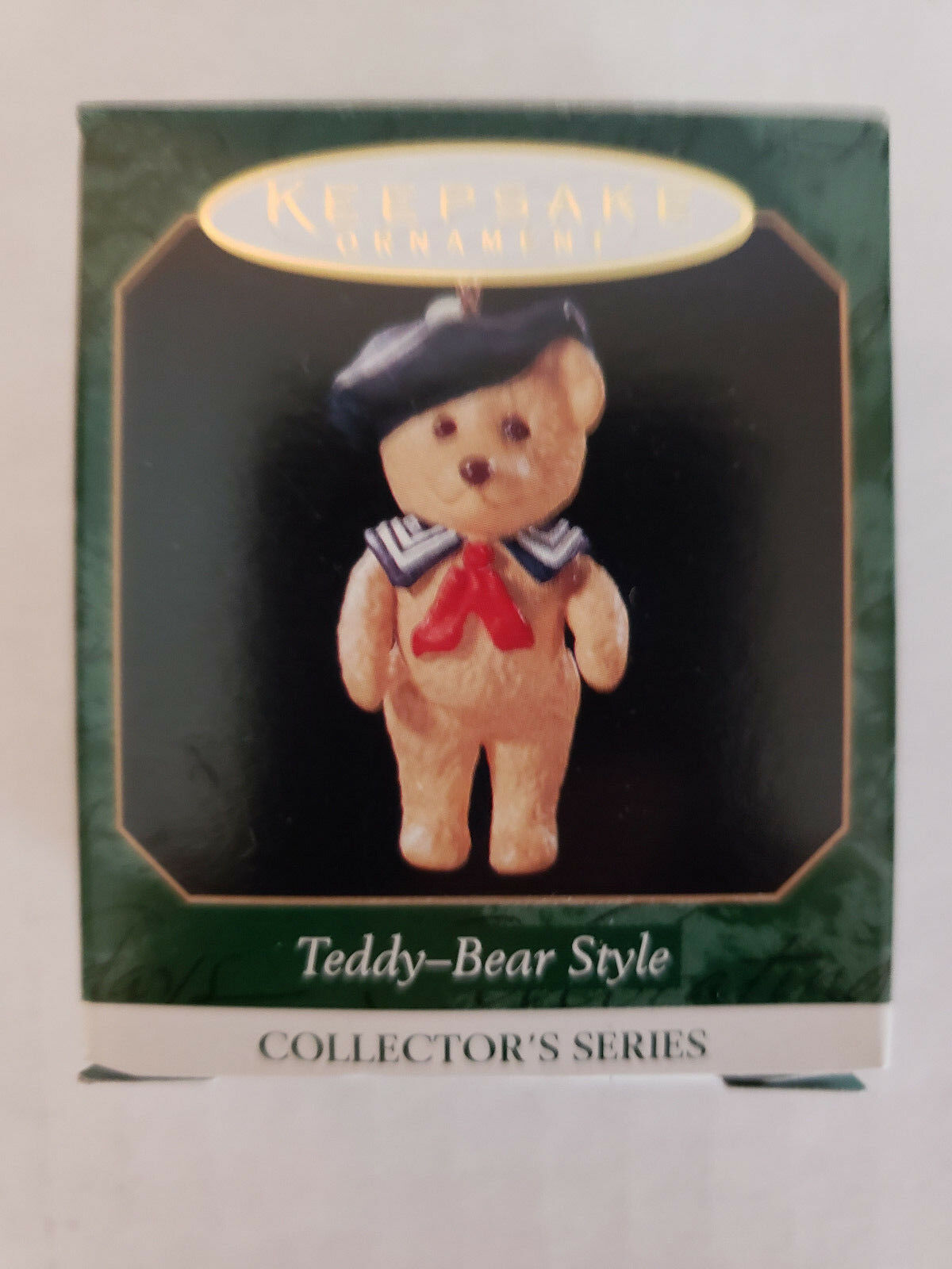 "Primary image for 1999 Hallmark Keepsake Miniatures ""Teddy Bear Style"" Ornament  3rd in Series"