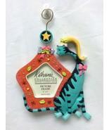 Katherine's Collection Aqua Cat Orange Picture Frame Ornament - $29.99