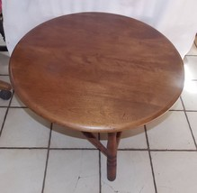 Cherry Round Coffee Table - $399.00