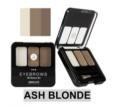 ABSOLUTE NEW YORK NEW HD EYEBROW KIT COLOR: ASH BLONDE - $3.91