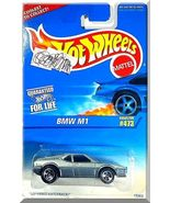 Hot Wheels - BMW M1: Collector #473 (1996) *Gray Edition / Louvered Hatc... - $2.00