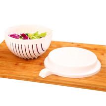 WULEKUE 1Set 60 Seconds Salad Vegetables Fruit Cutting Bowl - €14,00 EUR