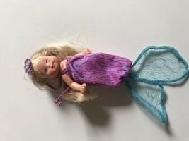 Mattel Barbie Magical Mermaid Jointed Baby Krissy Princess Doll VGC - $21.04