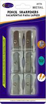 Metal Pencil Sharpeners - 6/Pack Case Pack 24 - $33.36