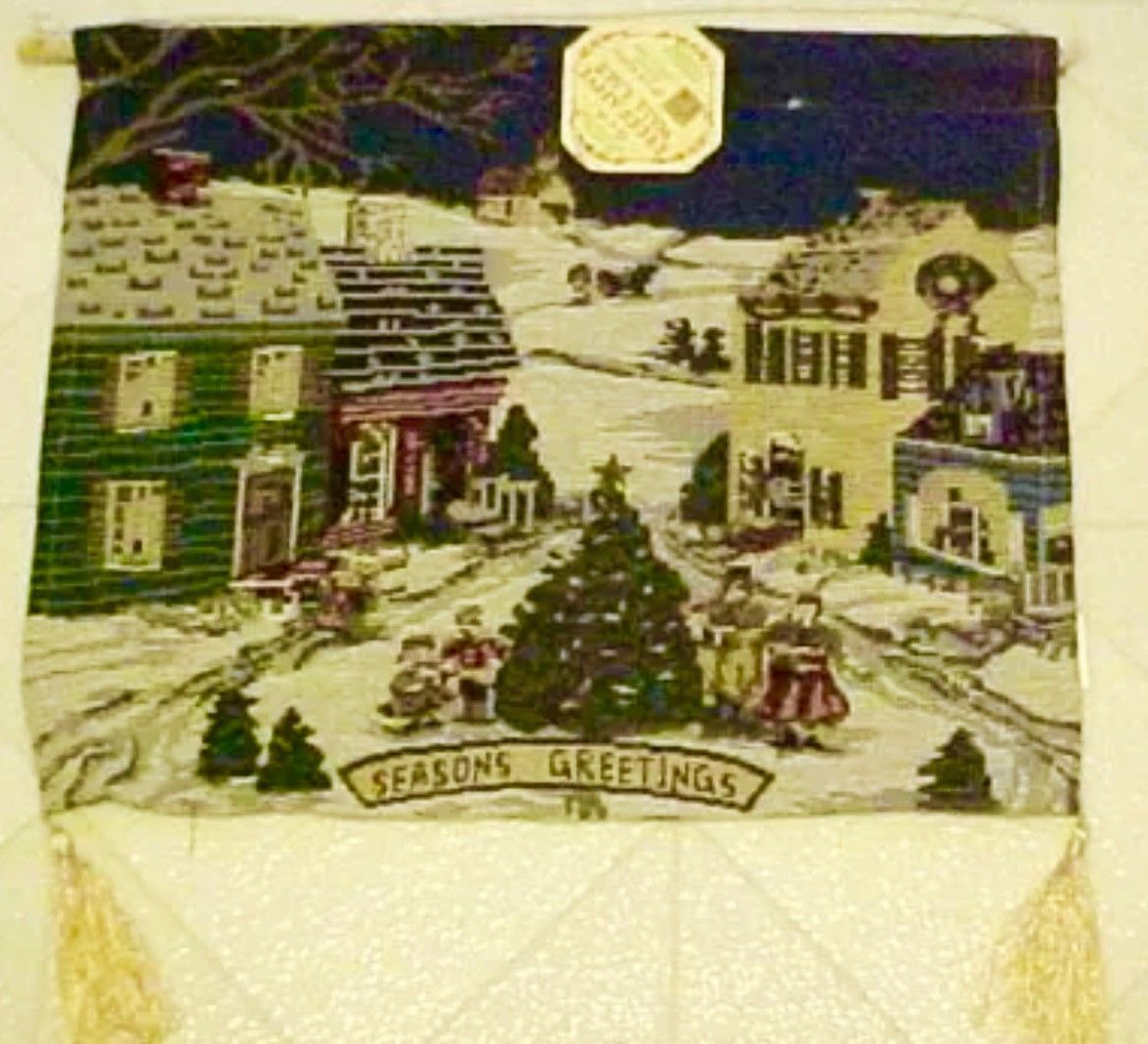 Christmas Winter Village Tapestry Wall and 50 similar items