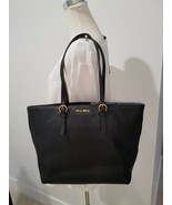 Miu Miu Large  Black Grained Women's Leather Tote Bag Very Good Condition  - $544.49