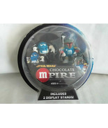 M Ms Star Wars Chocolate Mpire Han Solo and Boba Fett Action Figures NIB... - $15.99
