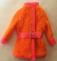 Vintage Barbie Sears Walking Jamie Furry Friends #1584 Orange Plush Coat... - $45.00