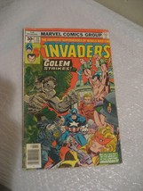 THE INVADERS the golem strikes #13 marvel comic book g-vg cond 1977 - $3.99