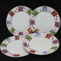 "Oneida Holiday Surprise Dinner Plates 10-1/4"" Set of 4 - $36.25"