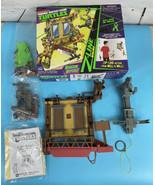 TMNT Teenage Mutant Ninja Turtles Z-Line Window Wipeout Playset In Box C... - $25.85