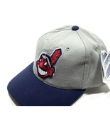 Cleveland Indians Vintage MLB Gray w/Wahoo Cap by Sports Specialties - $22.99