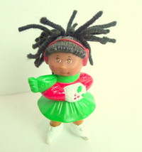 Cabbage Patch Kids CPK McDonald's Christmas Doll Ice Skater Red Green  1992 - $2.92