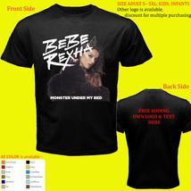 Bebe Rexha 6 Concert Album Shirt Size Adult S-5XL Kids Baby's  - $20.00+