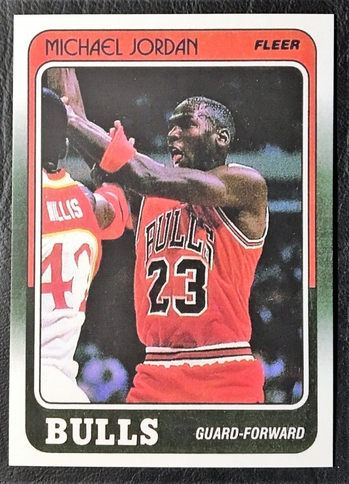 1988-89 Fleer #17 Michael Jordan Reprint - MINT -- Chicago Bulls