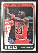 1988-89 Fleer #17 Michael Jordan Reprint - MINT -- Chicago Bulls - $1.98