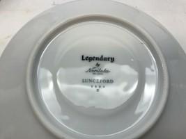 Vintage LEGENDARY Noritake LUNDEFORD Grey PLATINUM Bread and Butter PLATES - $24.74