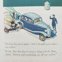 1933 Saturday Evening Post Chevrolet Print Ad Coupe Sedan Low Prices - $15.75