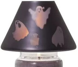 Yankee Candle Halloween Flickering Ghoulie Ghosts Jar Shade Candle Topper - $27.00