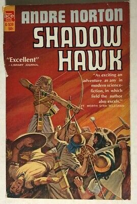 Primary image for SHADOW HAWK by Andre Norton (1960) Ace pb