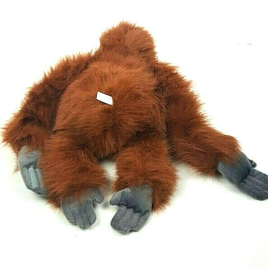 "KM International Wild Republic Plush Orangutan Monkey Ape Stuffed Animal 19"" image 5"