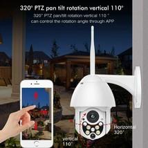SDETER Outdoor PTZ WiFi Security Camera, 1080P Pan Tilt Zoom, Motion Detection image 2