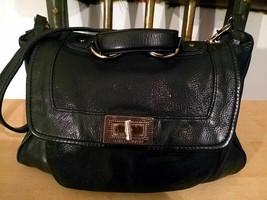 Rebecca Minkoff Buttery Soft Black Leather Satchel RARE - $63.24