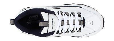 67fe33e1b15b ... Skechers Sport Men s Energy Afterburn Lace-Up Sneaker White Navy 11 XW  US
