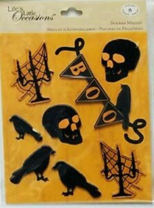 Life's Little Occasions Halloween Sticker Medley