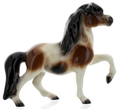 Hagen-Renaker Miniature Ceramic Horse Figurine Calico Pony Leg Up image 2