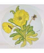 "Andrea by Sadek Yellow Flower Plate 7.5"" - $8.91"