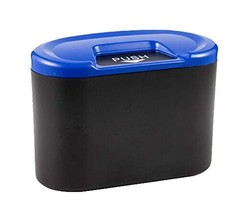 PANDA SUPERSTORE Creative Car Trash Cans/Green Box/Storage Box, Blue