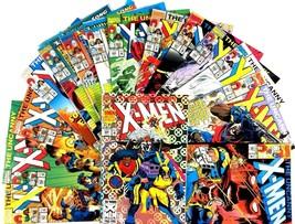 Uncanny X-Men Comic Book Lot 15 Issue Run 287-301 Marvel Storm Bishop Wo... - $30.64